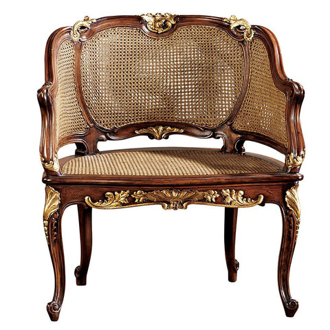 Louis XV Rattan Chair