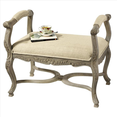 Carlisle Collection Window Bench - Tapestry Zest