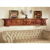 Dunbridge Soupiere Mantle Pediment - Tapestry Zest