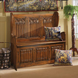 Kylemore Abbey Gothic Bench - Tapestry Zest