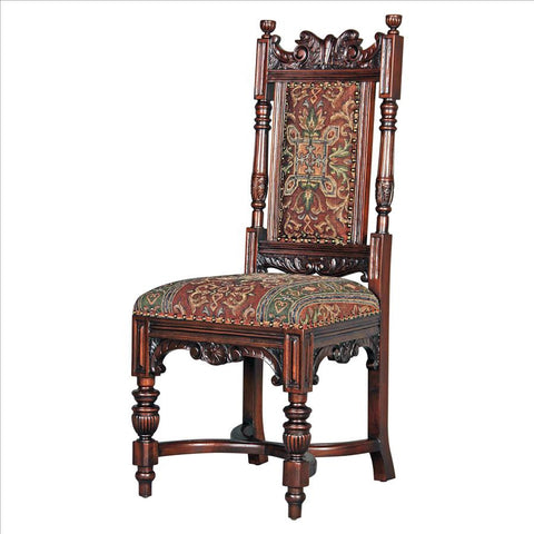 Grand Classic Edwardian Side Chair - Tapestry Zest
