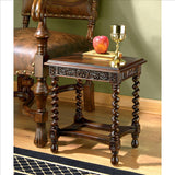 Camberwell Manor Petite Side Table - Tapestry Zest