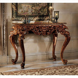 King Frederic Console Table - Tapestry Zest