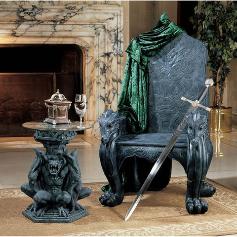 Celtic Dragon Throne - Tapestry Zest