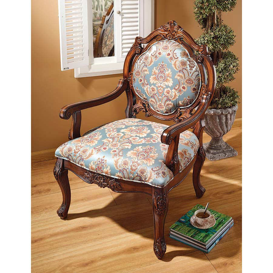 Madame De Pompadour Arm Chair - Tapestry Zest
