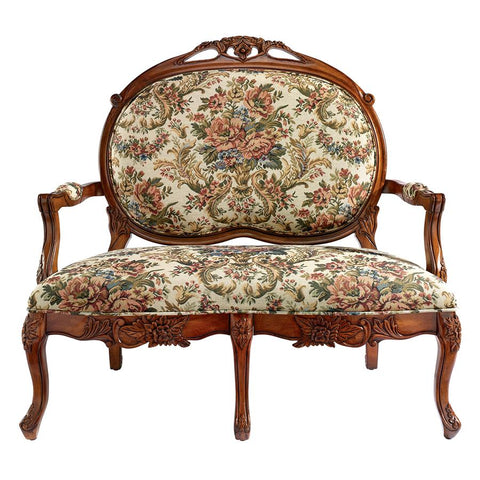 Calcot Manor Medallion Settee Bench