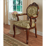Chateau Theron Sitting Room Armchair - Tapestry Zest