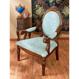 Victoria Wing Armchair - Tapestry Zest