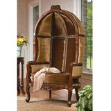 Lady Alcott Victorian Balloon Chair - Tapestry Zest