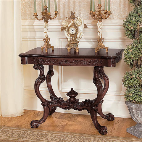 Topsham Manor Console Table - Tapestry Zest