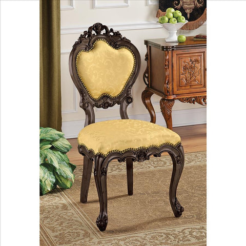 Lady Ambrose Shield Back Chair - Tapestry Zest
