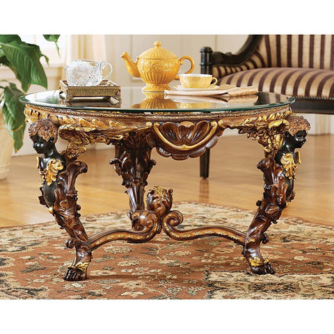 Louis Xiv Cocktail Table - Tapestry Zest