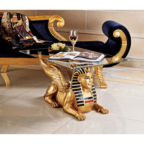 Sphinx Coffee Table - Tapestry Zest