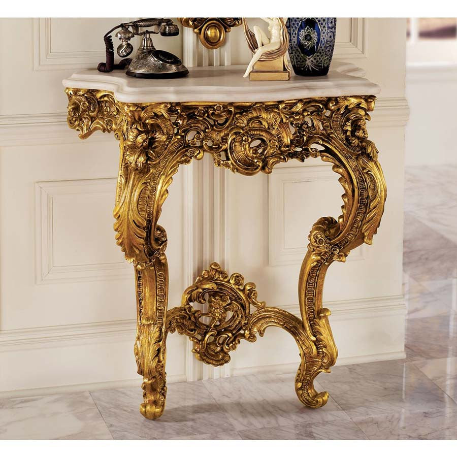 Antoinette Table Console - Tapestry Zest