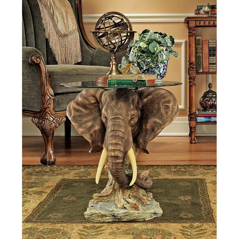 Lord Houghtons Elephant Table - Tapestry Zest