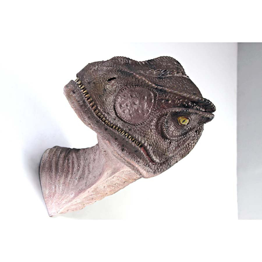 Allosaurus Wall Trophy Mouth Closed - Tapestry Zest