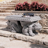 Blair Castle Gargoyle Bench