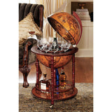 16Th Century Globe Bar - Tapestry Zest