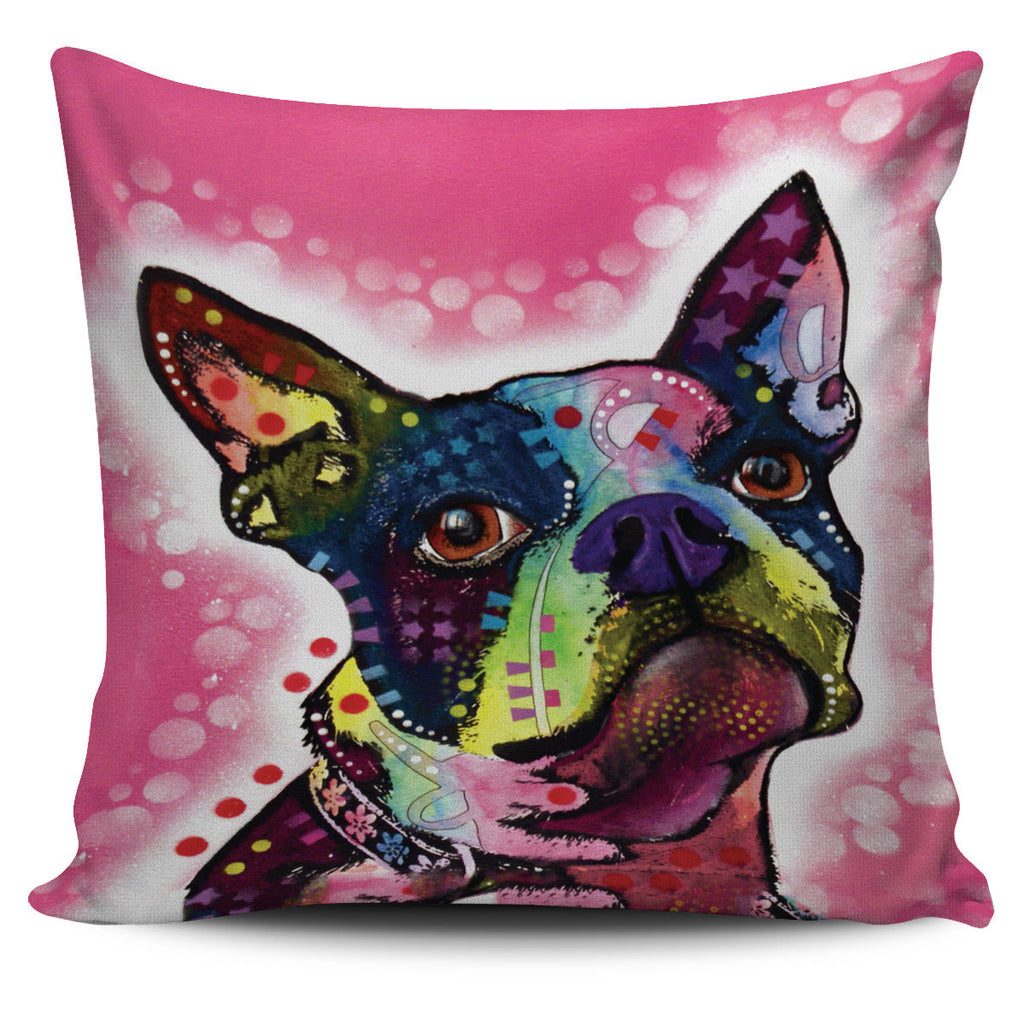boston terrier pillow covers – pillowmansion - boston terrier pillow covers
