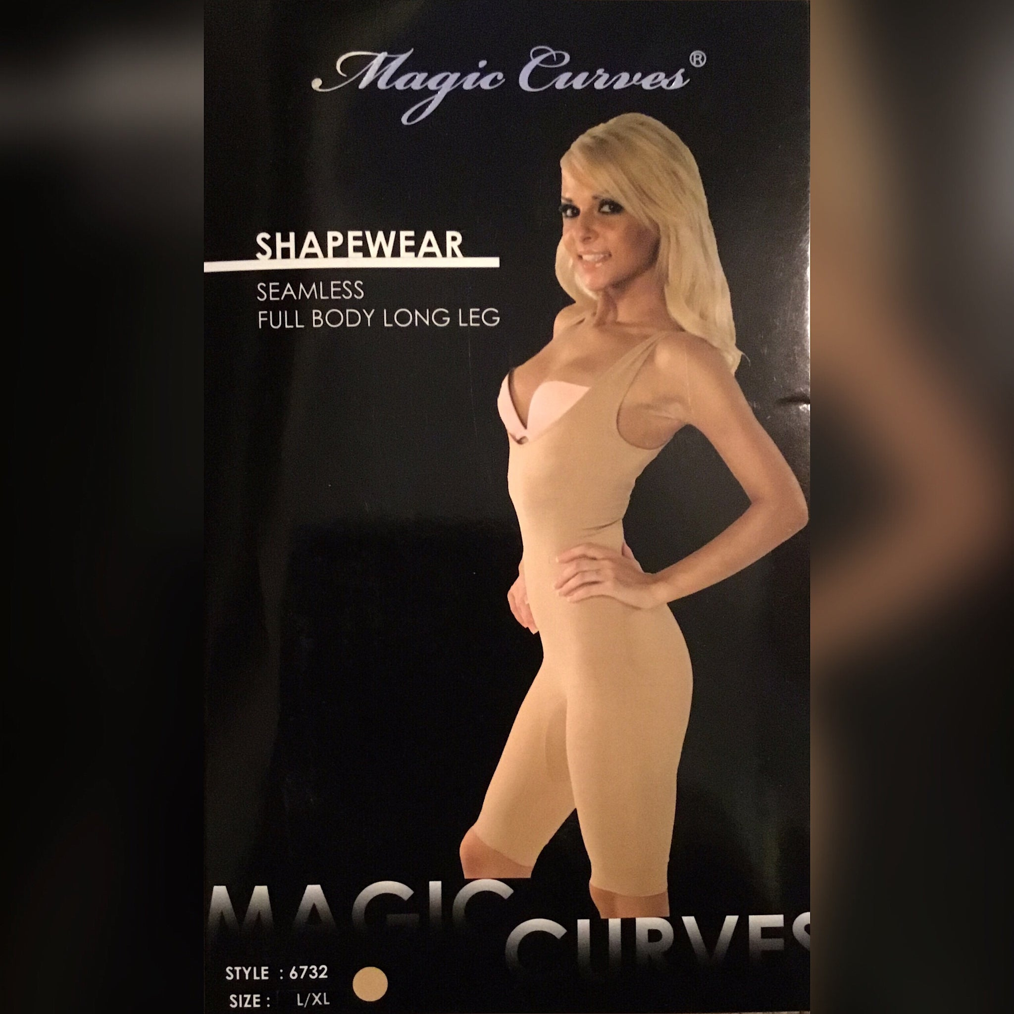 Magic Curves Seamless Knee Length Shapewear - socialbutterflycollection-com