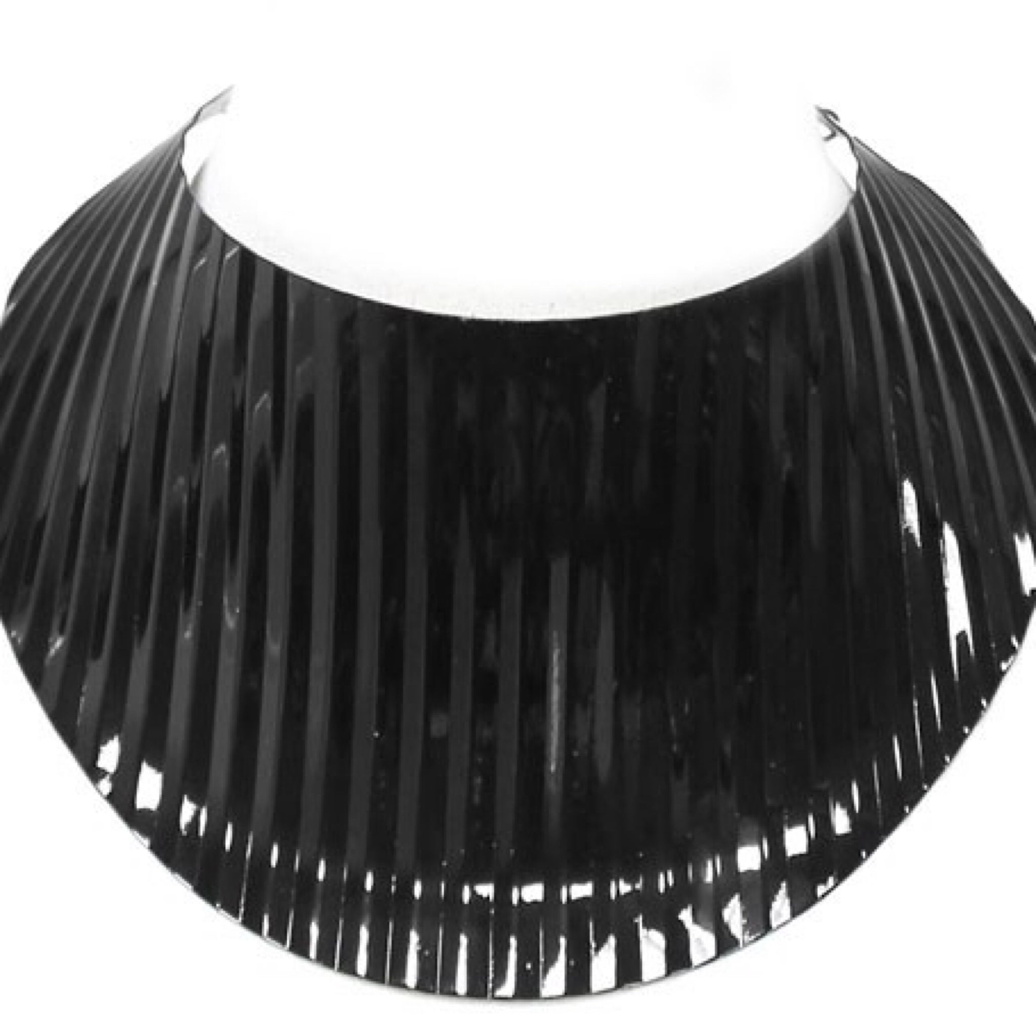 Metal Choker Statement Necklace