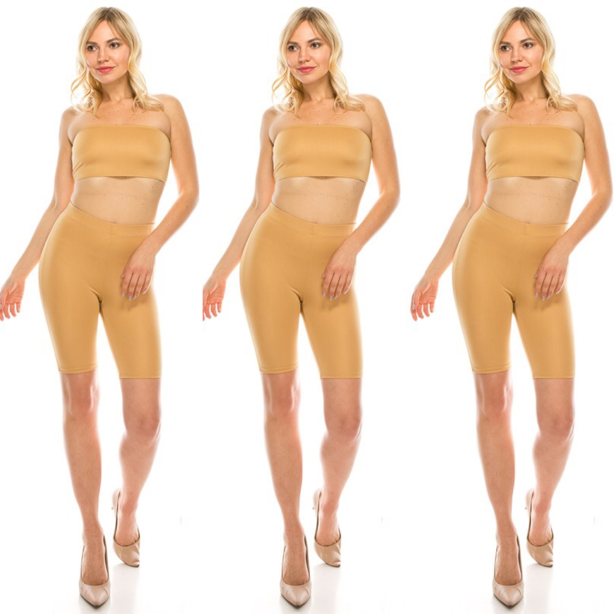 Black or Nude Color Two Piece Set (4494131101757)