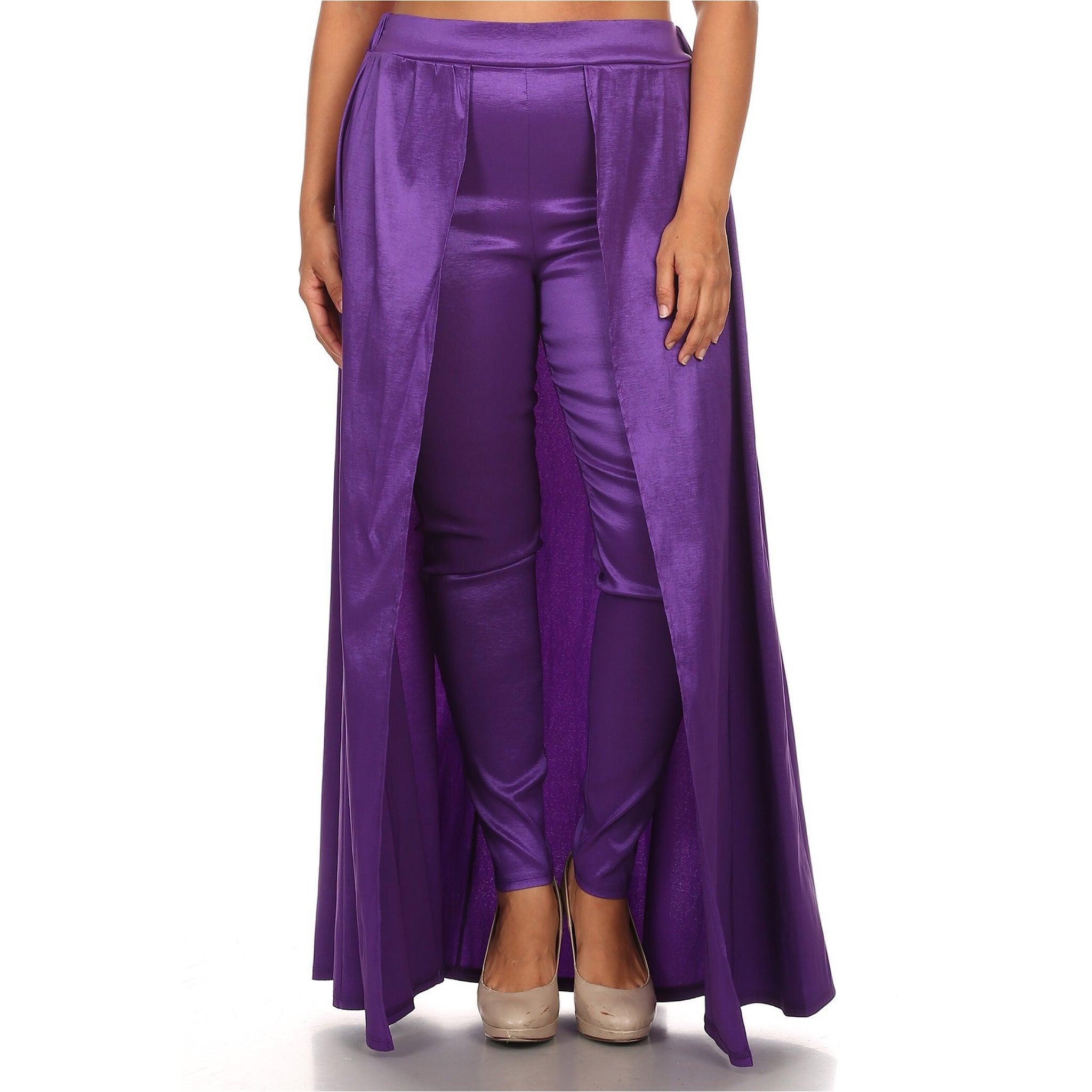 Purple Pant Skirt Combo - socialbutterflycollection-com (16679141390)