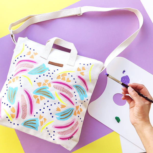 Handpainted Totes by La Tinta Art