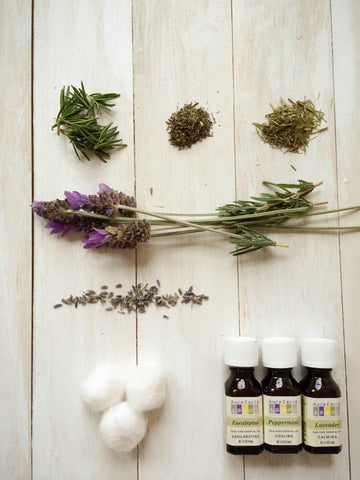 herbs for DIY Scented Bug Off Repellent