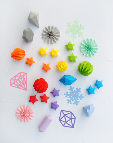 paper stars by minieco paper folding flowers stars