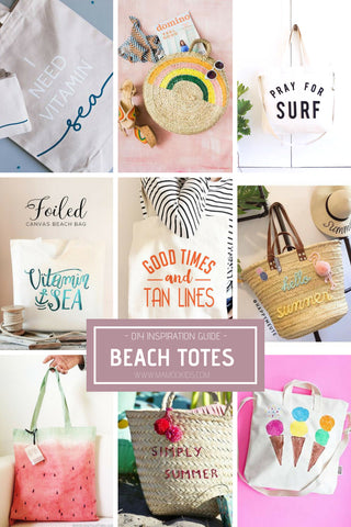 DIY Beach Tote Decorate Guide For Weddings Party Favors