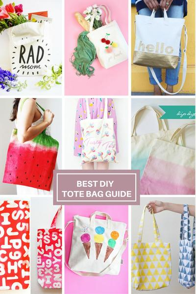 Blank Canvas Tote Bag DIY Inspiration