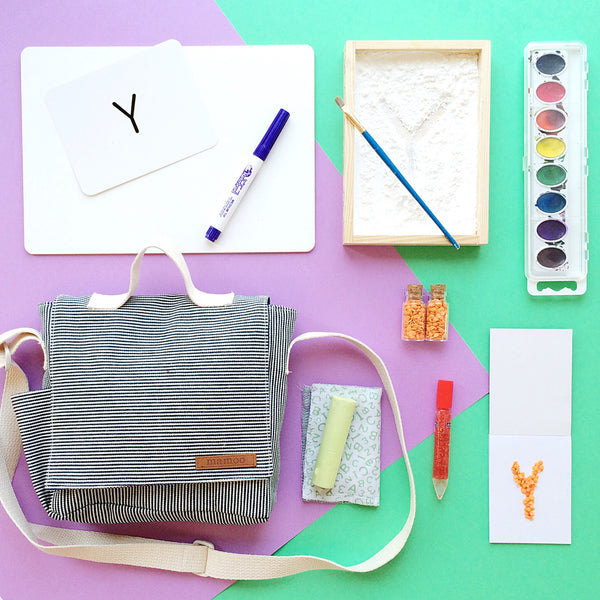 Kindergarten Toolkit and letter practicing busy bag