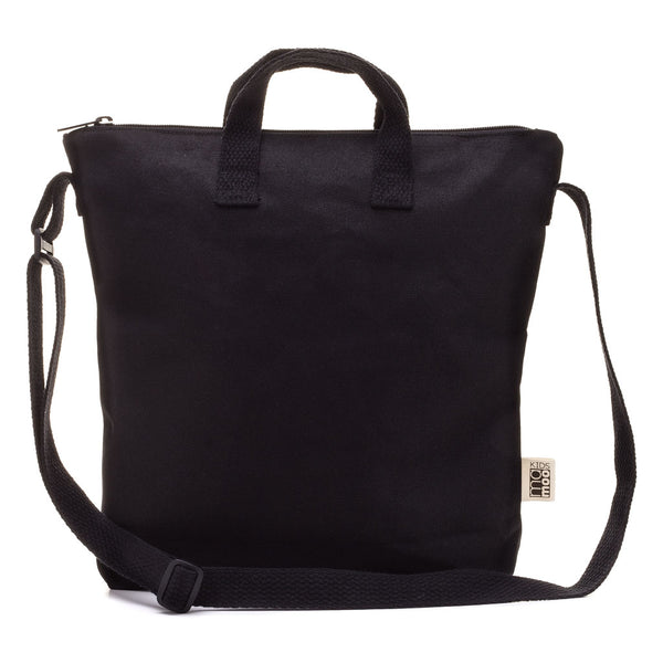Black Blank Canvas Tote Bag
