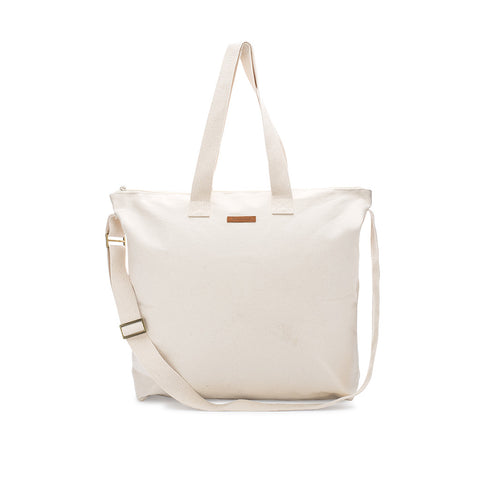 Oversized Unlined Blank Tote Bag