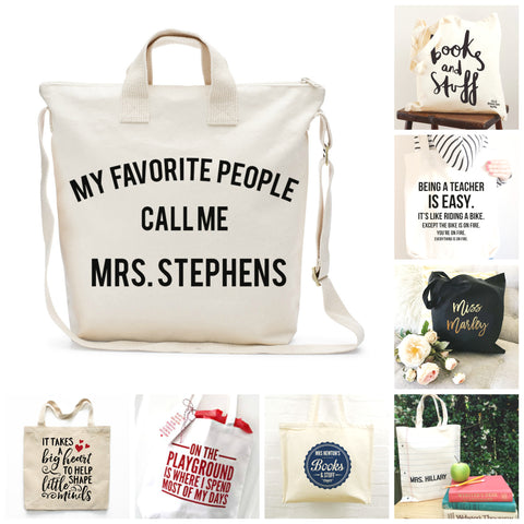 12 Teach Appreciation Tote Inspiration Ideas