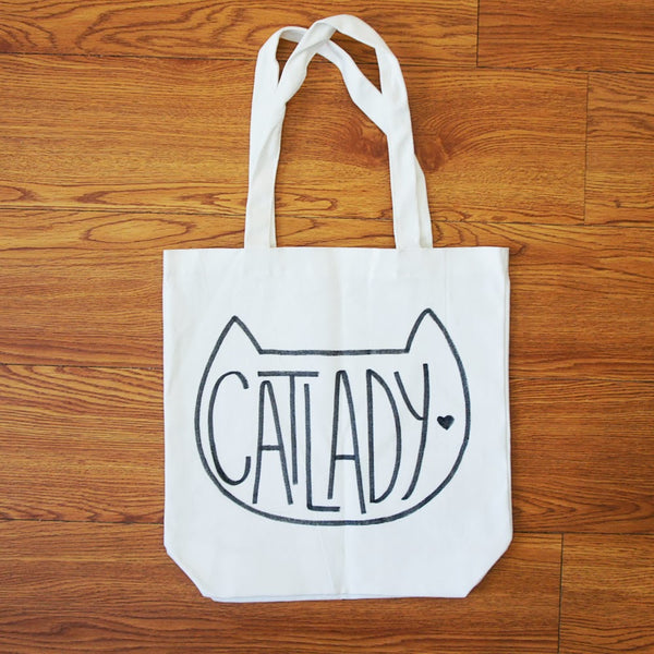 8f32d7182 ... will help guide you. Fabric Marker DIY Canvas Tote Bag Cat Lady