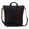 Limited Edition Blank Artist BLACK Canvas Zipper Tote Bag Long Strap - mamookids - 1