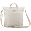 Limited Edition Blank Artist NATURAL Canvas Zipper Tote Bag Long Strap - mamookids - 2