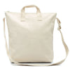 Limited Edition Blank Artist NATURAL Canvas Zipper Tote Bag Long Strap - mamookids - 1