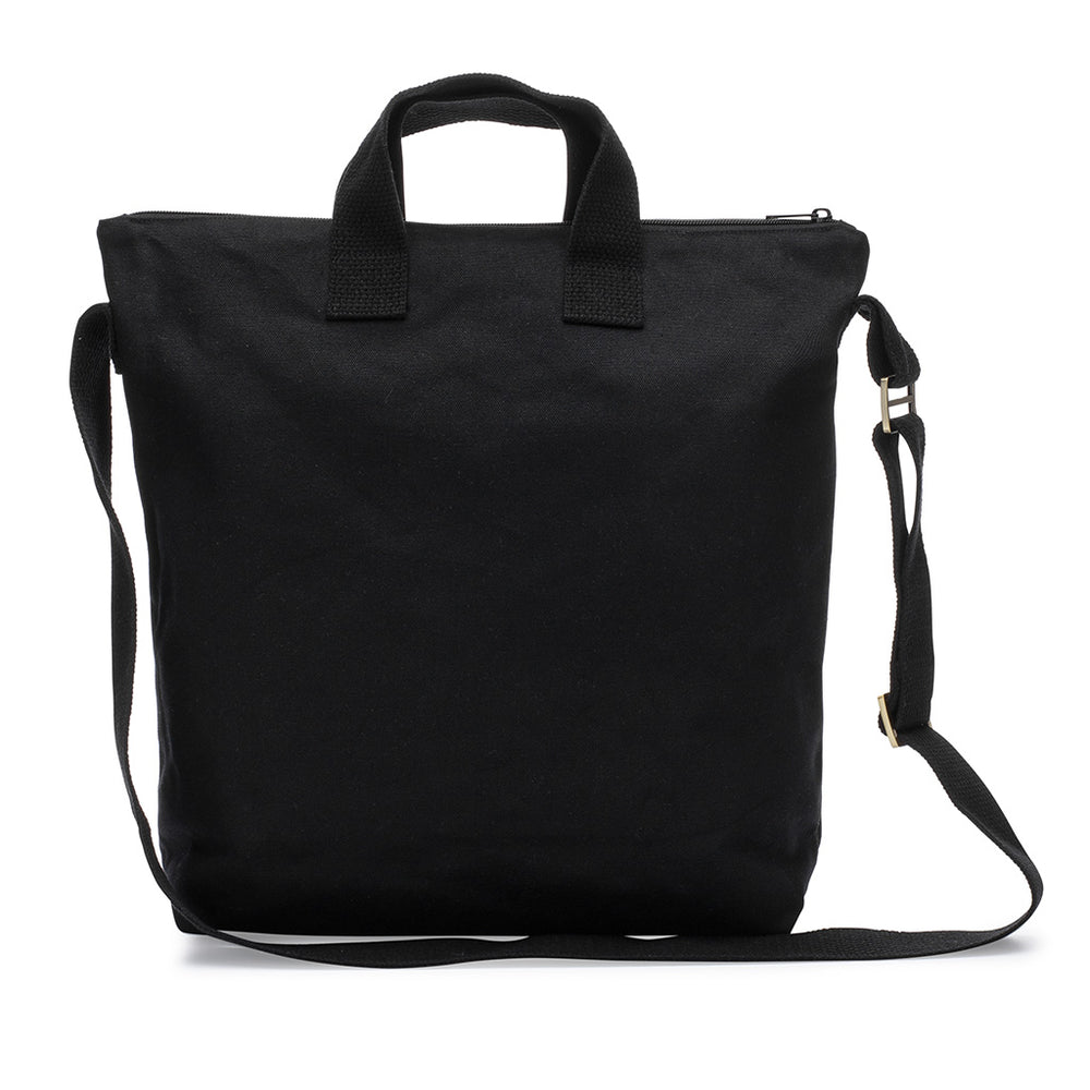 ddef25d7e3 Black and natural high quality zipper tote bags. | mamookids