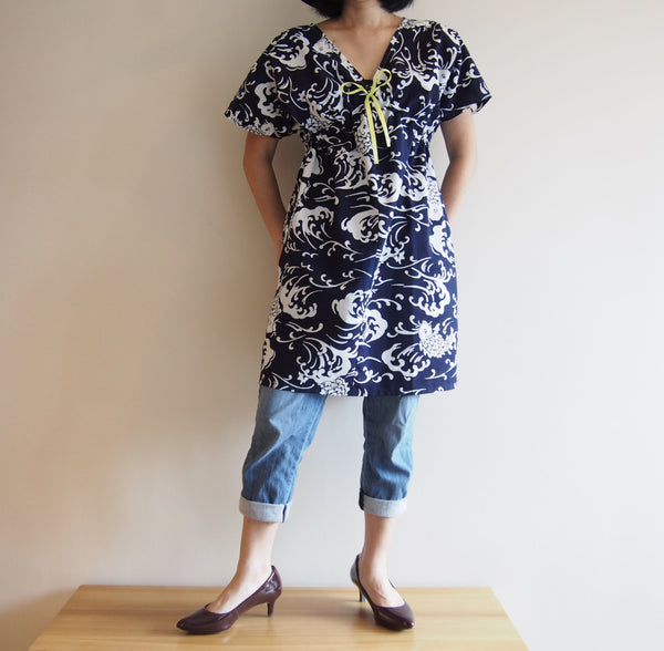 <RS15D03-002>  OKINAWA Dress Short