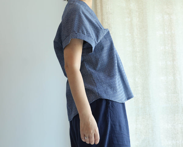 <RS19T14-009> OKINAWA ORIGAMI Top