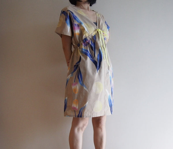 <RS15D03-001>  OKINAWA DRESS SHORT