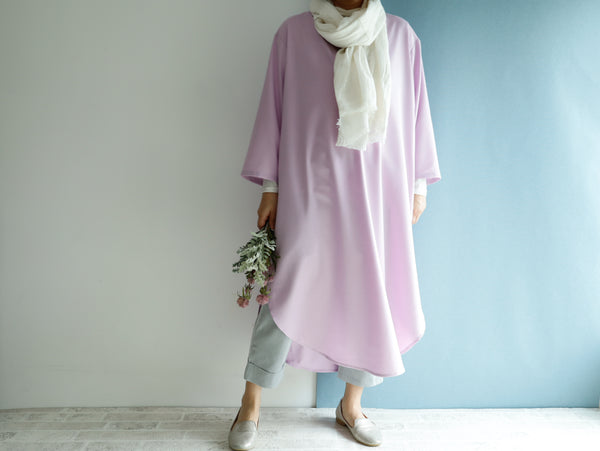 <RS20D17LV> SHIRT Dress LAVENDER