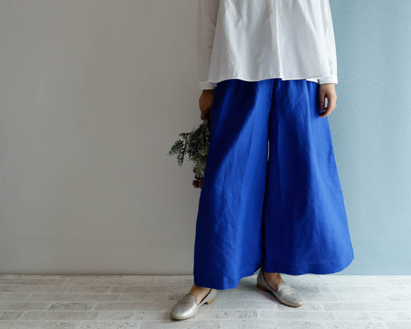 <RS20P14RB>LINEN/RAYON GAUCHO