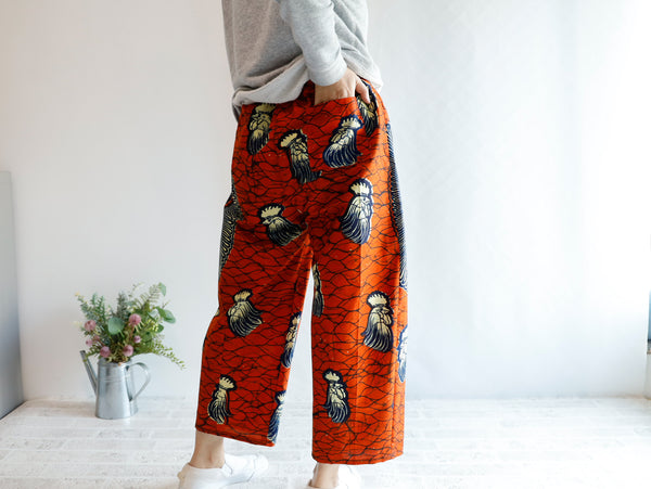 <RS21P17-000>  AFRICAN PRINT Balloon pants