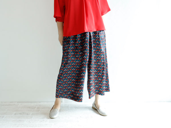 <RS21P09S> PSYCHEDELICISH Print GAUCHO
