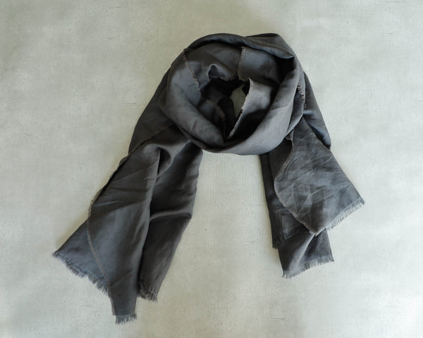 <RS20A03CG> LINEN/RAYON  Scarf