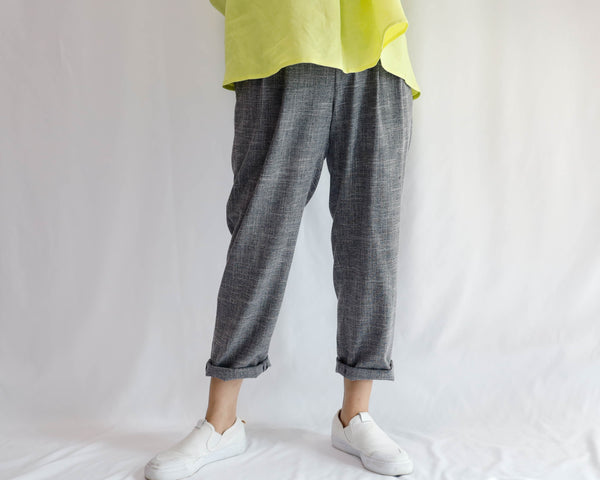 <RS20P10>   -Tapered Pants